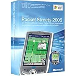 Microsoft Pocket Streets 2005 Win CE English NA & Euro Only CD