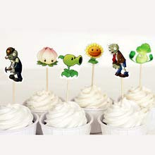 Plants Vs. Zombies Cupcake Toppers Pack of -