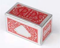 (Sampler Pack - 4 Packets of Rips Red Cigarette rolling papers, just tear off ...)