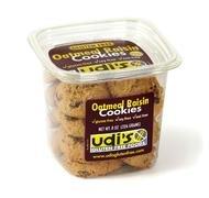 Udi's Gluten Free Oatmeal Raisin Cookies Tub 8.0 OZ (pack of 8) by Udi's
