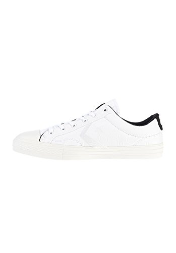 Chuck Taylor All Star Player Ox White - WHITE