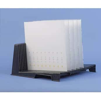 Image of Analtech 50-02 Thin Layer Chromatography (TLC) Plate Holder, 25 Plate Capacity TLC Plates