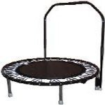 Needak Non-folding Hard-Bounce rebounder Black w/Stabilizing Bar-R04-05 ()