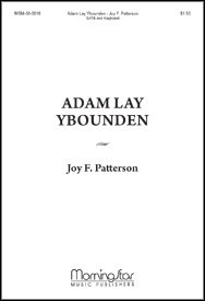 Adam Lay Ybounden - Keyboard Sheet ()