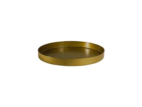 Saffron Fabs GOG Decorative - Trays 15 inch Green Gold