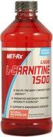MET-Rx Liquid L-Carnitine 1500, Natural Watermelon 16 oz (473 ml)