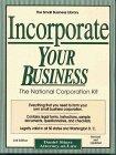 Incorporate Your Business, Daniel Sitarz, 0935755578