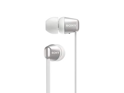 Sony WI-C310 Wireless in-Ear Headphones, White (Headphone Bluetooth Sony)