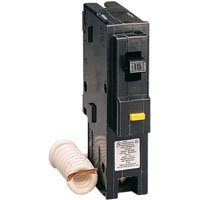 Square D HOM115GFI 1 Pole 15Amp Ground Fault Circuit ()
