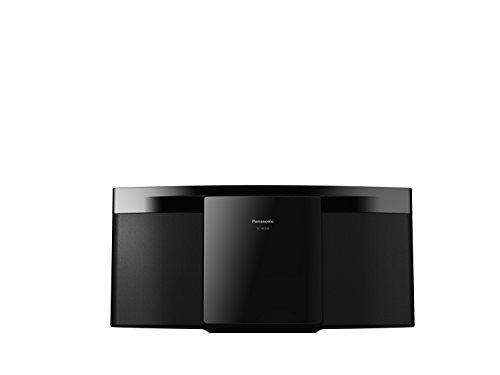 Panasonic SC-HC200EG-K I 20 W cd-speler, FM-radio, bluetooth, USB-poort, compact design, behuizing van zwarte stof…