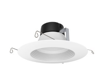 (8-Pack) Satco S9471 12WLED/RDL/5-6/40K/120V 5''/6'' - 65W Equal - 4000K Dimmable LED Recessed Downlight Retrofit by Satco