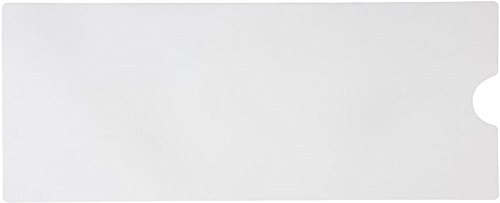 "Safe Way Traction 16"" X 40"" White Adhesive Vinyl Anti Slip Non Skid Safety Bath Mat with Drain Cut Out from Safe Way Traction"
