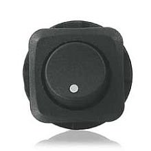 SPST Rocker Switch (Black)