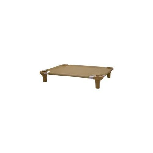 "UPC 663789450154, Pet Cot Size: 30"" L x 22"" W, Color: Brown/Black"