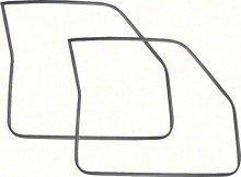 1968-72 Chevy II / Nova 2Dr Door Frame Weatherstrips - Pair ()