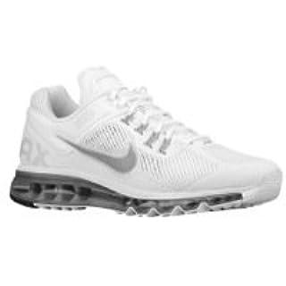 NIKE Air Max+ 2013 Mens Running Shoes 554886 100 White 9 M