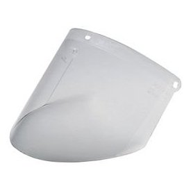 3MTM Polycarbonate Faceshield, Clear, 10/Box, WP96 -
