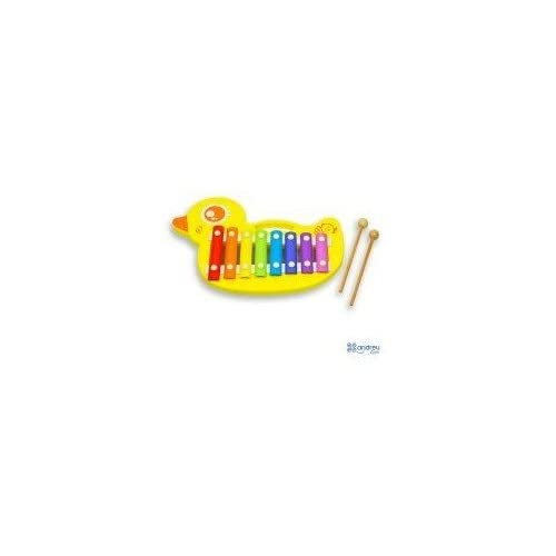 Andreu Toys 31,5 x 21,5 x 3,5 cm canard Xylophone (Multicolore)
