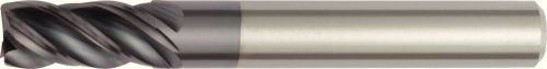 AlTiN Coating WIDIA Hanita 477816006MW VariMill I 4778 HP End Mill 4-Flute Carbide Weldon Shank 16 mm Shank Diameter RH Cut 16 mm Cutting Diameter