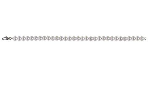 Mayumi-Bracelet Perles Parfaite Perlagione 5,5 X 6 mm-Argent 925-Rh ° ° °