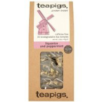 (Teapigs Liquorice and Peppermint Tea - Made of Whole Leaf Only - 15 Teabags (Pack of 2))