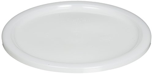 Cambro RFSC6148 Round Storage Container Lid, 6 and 8 Quart, White