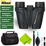 Nikon?8x25 ProStaff ATB Binocular (Black) + Case + Deluxe Cleaning Kit