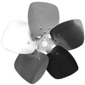 (Five Wing Condenser Fan Blade, Interchangeable Hub, Aluminum, CW, 14