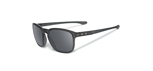 Oakley Men's Enduro Round Eyeglasses,Matte Grey Smoke,55 mm by Oakley