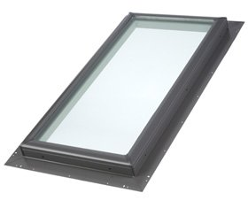 Velux Qpf22222004 Pan-Flashed Skylight, Laminated Glass, ...