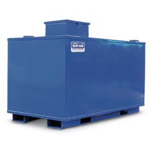 Nation Tank & Trailer 125 Gallon Double-Wall Waste Oil Tank ()