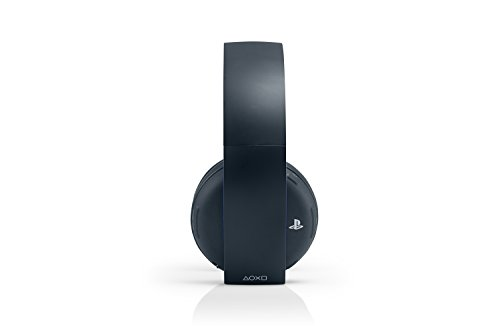 PlayStation Gold Wireless Stereo Headset - Jet Black