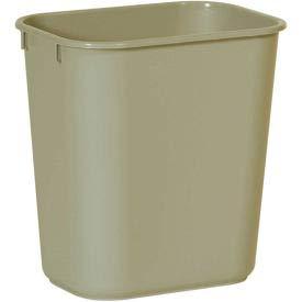 RCP295500BG - Deskside Plastic Wastebasket