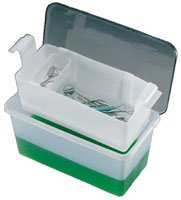 106 Part# 106 - Tray Instrument C-Tub Plstc with Lid Transparent 1gal Ea By Cetylite Industries Inc