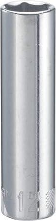 6-Point CRAFTSMAN Deep Socket 17mm CMMT44434 3//8-Inch Drive Metric