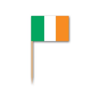 Irish Flag Picks   (50/Pkg) -