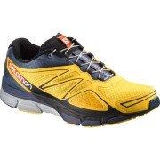 Salomon X Scream 3d Running Shoes Amarillo Bee X Slate Blue Solar Orange Talla:46,5