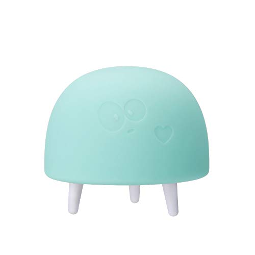 (Tpingfe LED Nursery Night Lights for Kids,Cute Animal Silicone Baby with Sensor Discoloration Bedside Lamp for Breastfeeding, Safe Soft Silicone for Baby, Eye Caring LED (Green) )