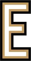 [해외]LD-E 레터 칼 E 스티커 LETTER DECAL (7.6 cm) / LD-E Letter Decal E Sticker LETTER DECAL (7.6 cm size)