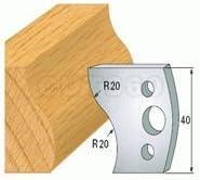 2 Universal Profilmesser 40x4mm Profil 009 SP Stahl