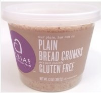 Aleia's Gluten Free Foods Bread Crumbs, Plain, Gf, 13-Ounce (Pack of 4)
