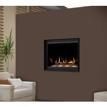 Napoleon BGD36CFGN Crystallo Direct Vent Gas Fireplace Crystallo Top/Rear Vent F by Napoleon