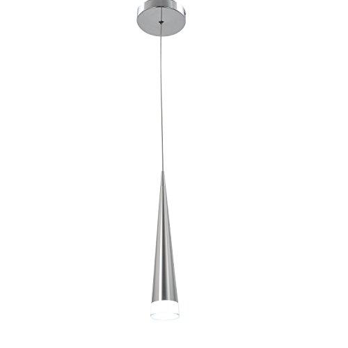 Modern Chrome Pendant Light in US - 5