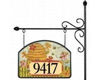Bee Skep Garden Sign