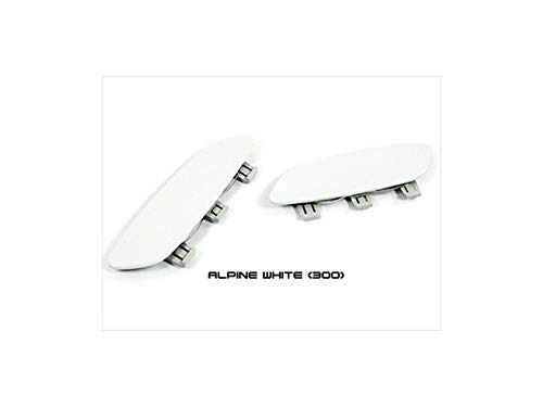 AutoTecknic Painted Front Bumper Reflectors (Alpine White) - BMW E9X M3