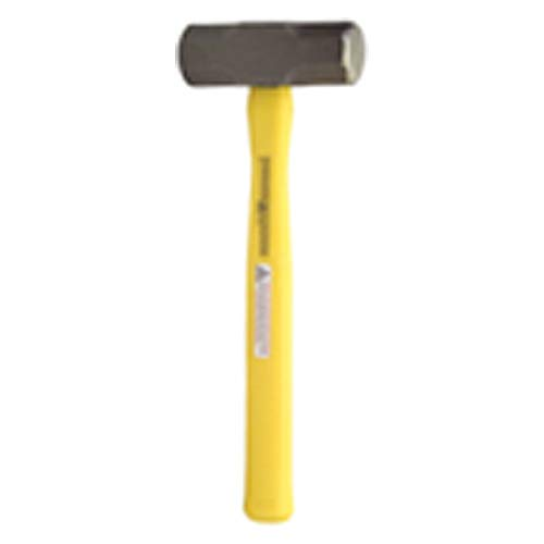 Sledge Hammer - 16 lbs - Ergonomic Synthetic Handle; 2 7/8'' Head Diameter
