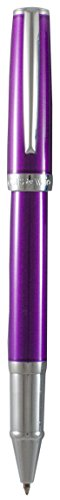 Marquis by Waterford Easy snap cap Rollerball Pen, Purple Lacquer ()