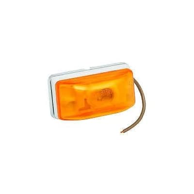 Wesbar 203233 Side Marker/Clearance Light - Amber: Automotive