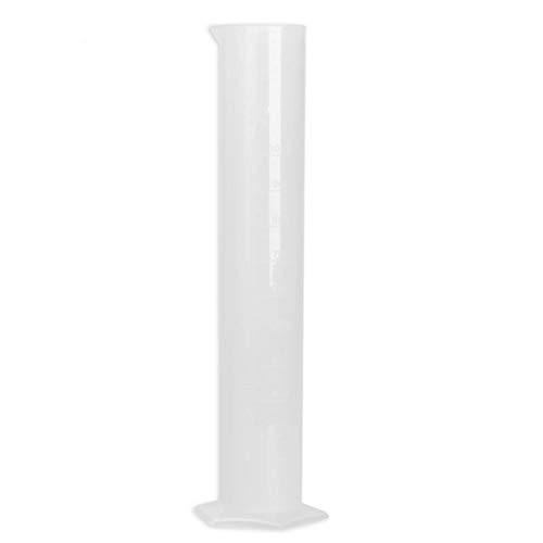 Messzylinder 1000 ml Messzylinder Messwerkzeug f/ür Laborbedarf und Chemie-Test Kunststoff durchsichtig