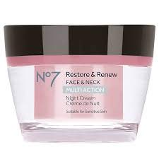 No7 Restore and Renew Night Cream - 1.6  oz